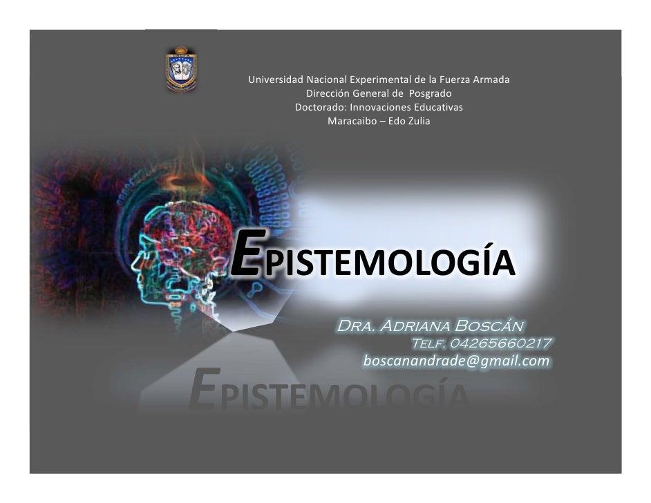 UniversidadNacionalExperimentaldelaFuerzaArmada              DirecciónGeneraldePosgrado            Doctorado:I...