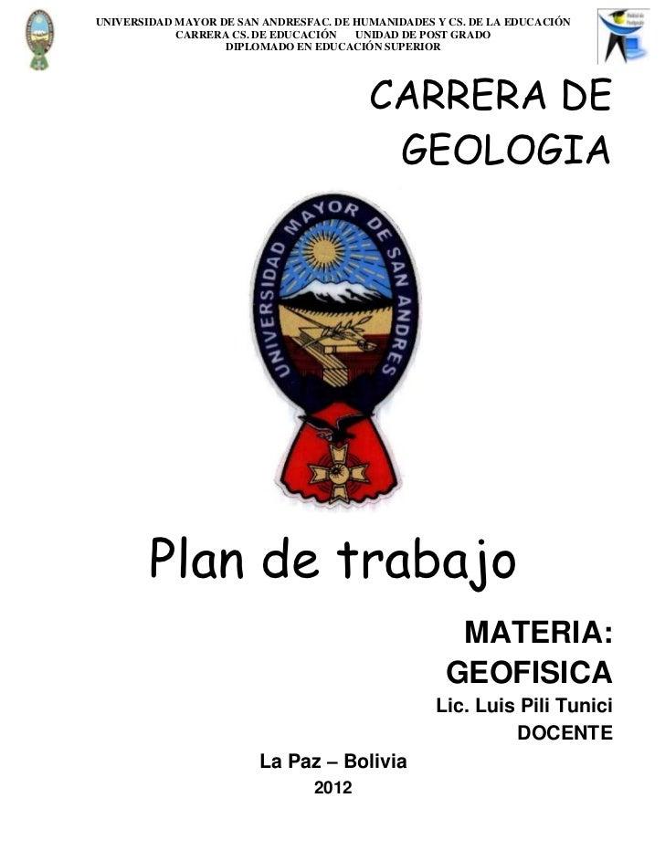 GEOFISICA- diseño microcurricular