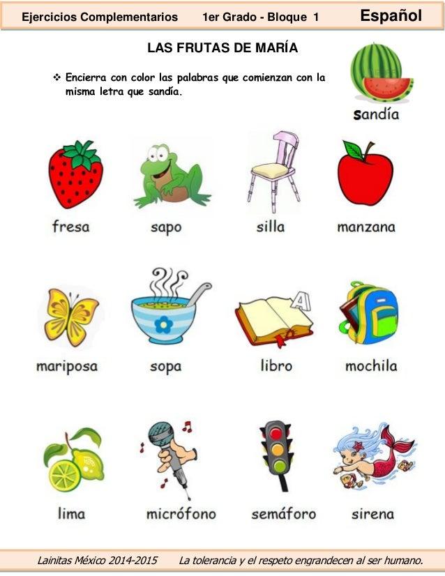 Objetos Con i a Color Con Color Las Palabras Que