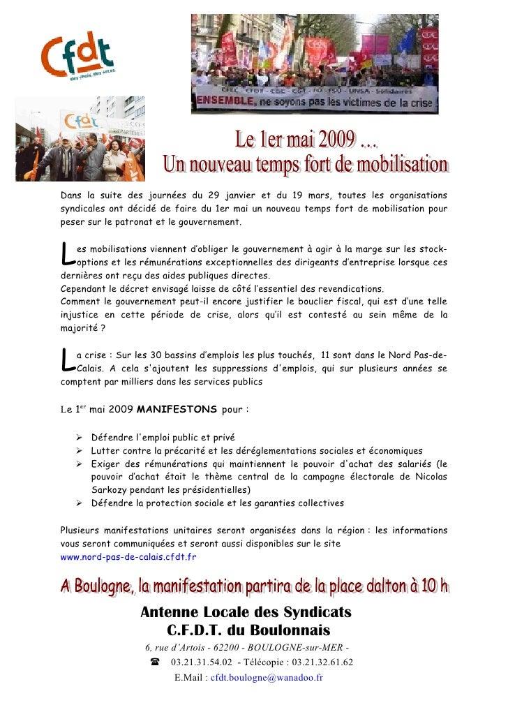 1er Mai Tract Boulogne