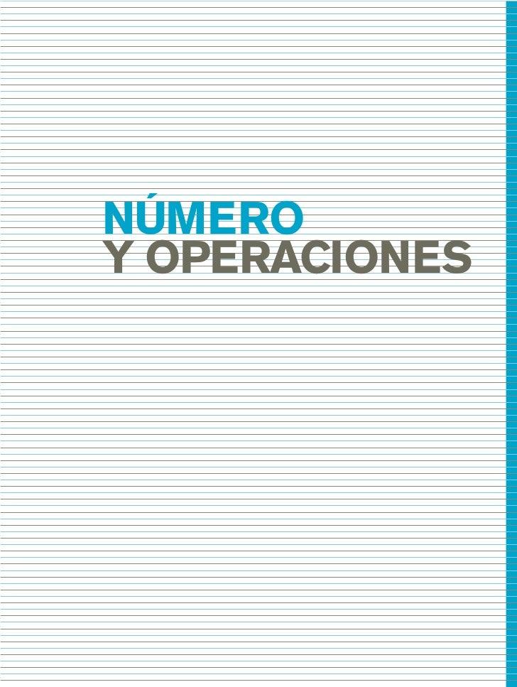 03_mat.qxd   5/10/06   6:37 PM   Page 41                       NÚMERO                       Y OPERACIONES