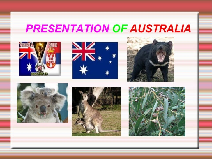 1º ESO - Social Sciences Project - AUSTRALIA