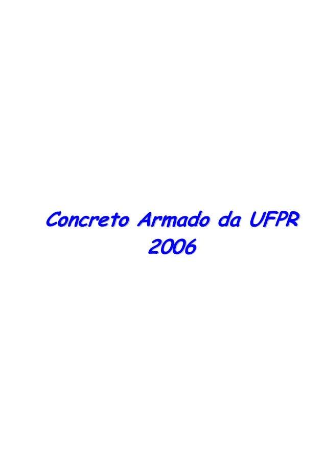 CCoonnccrreettoo AArrmmaaddoo ddaa UUFFPPRR22000066