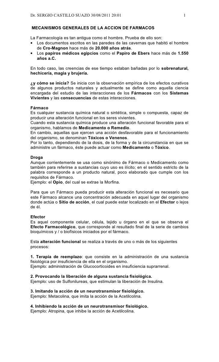 Dr. SERGIO CASTILLO SUAZO 30/08/2011 20:01                                        1MECANISMOS GENERALES DE LA ACCION DE FA...
