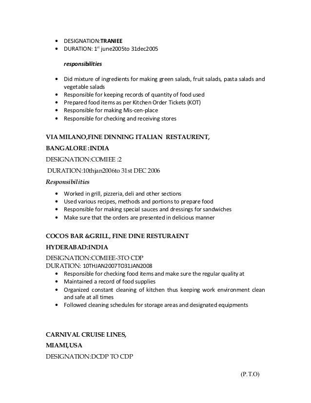 Order resume online h&m