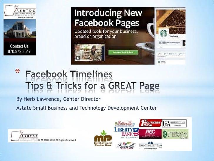 Slides from Batesville Facebook Timelines Workshop