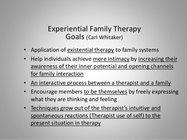 existentialist approach to therapy Images in existential art therapy in this phenomenological-existential approach, the client and art therapist are regarded as.