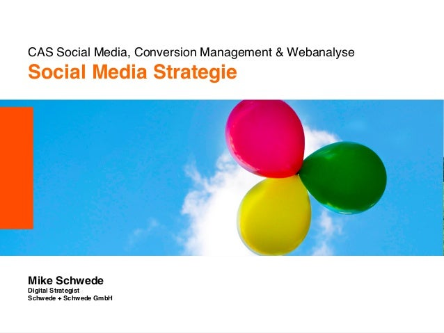 CAS Social Media, Conversion Management & Webanalyse                             