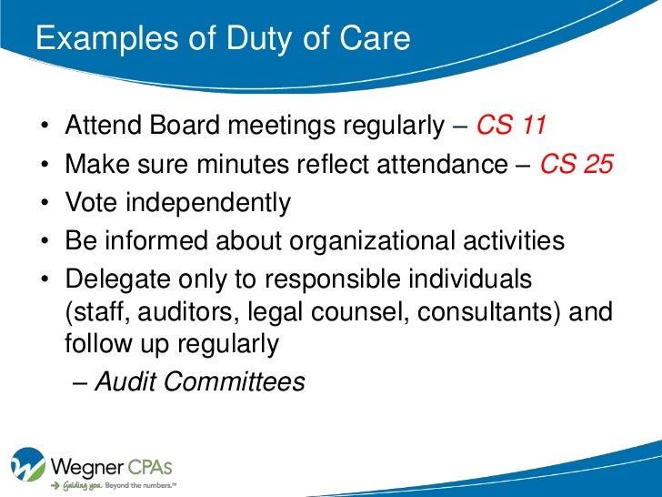 duties of an employee