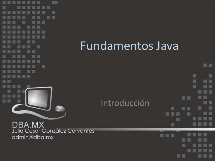 1 fundamentos java