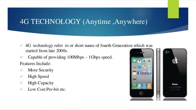 4g wireless technology research paper