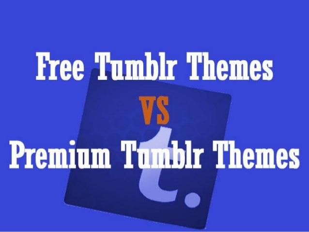 Free tumblr them