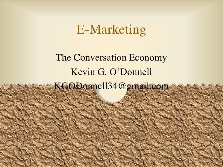 Conversation Economy