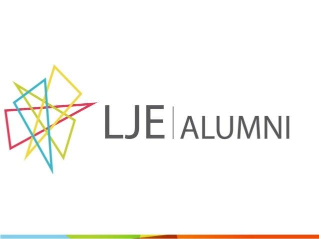 Qui sommes-nous?  LJE Alumni  Présentation soirée de lancement - 09.10.2014  2  est l'association des anciens participants...