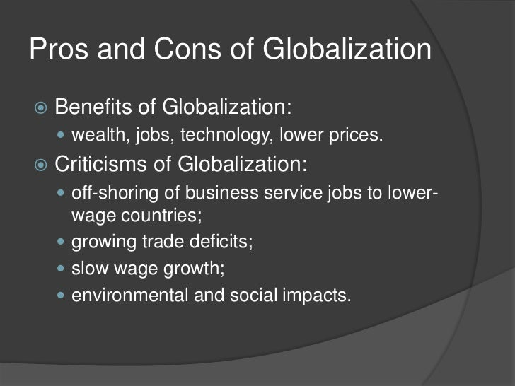 globalization and international linkages 1 globalization international business objectives • to define globalization and international business and how they affect each other • to understand why companies engage in international.