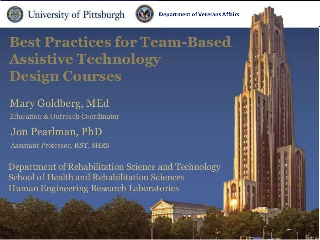 Open 2013:  Best Practices for Assistive Technology Design Classes and Their Products