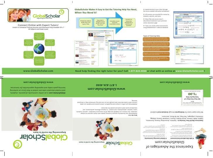 Global scholar homework help