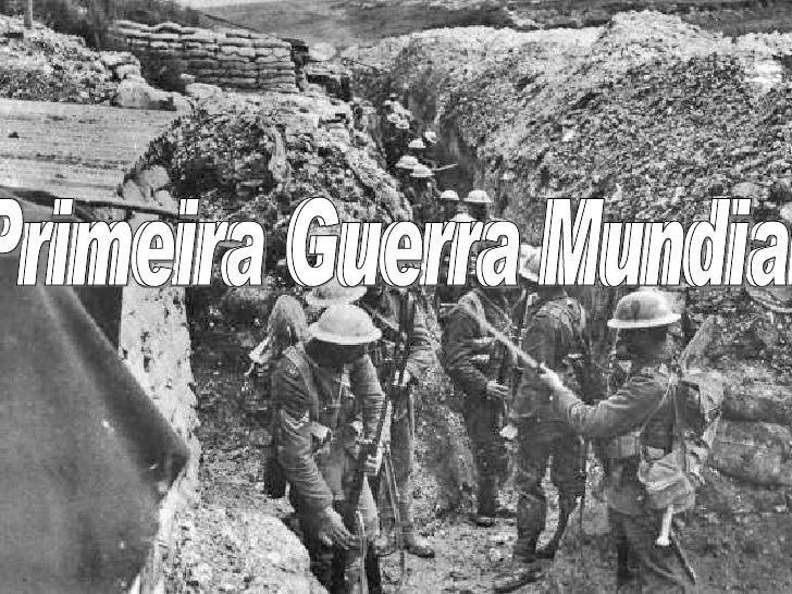 1 guerra mundial: