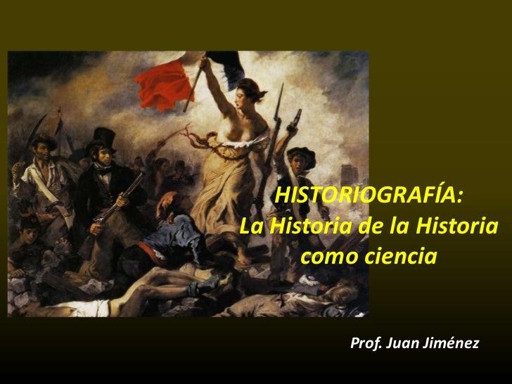 HISTORIOGRAFIA - REVOLUCIÓN INDUSTRIAL - ILUSTRACIÓN