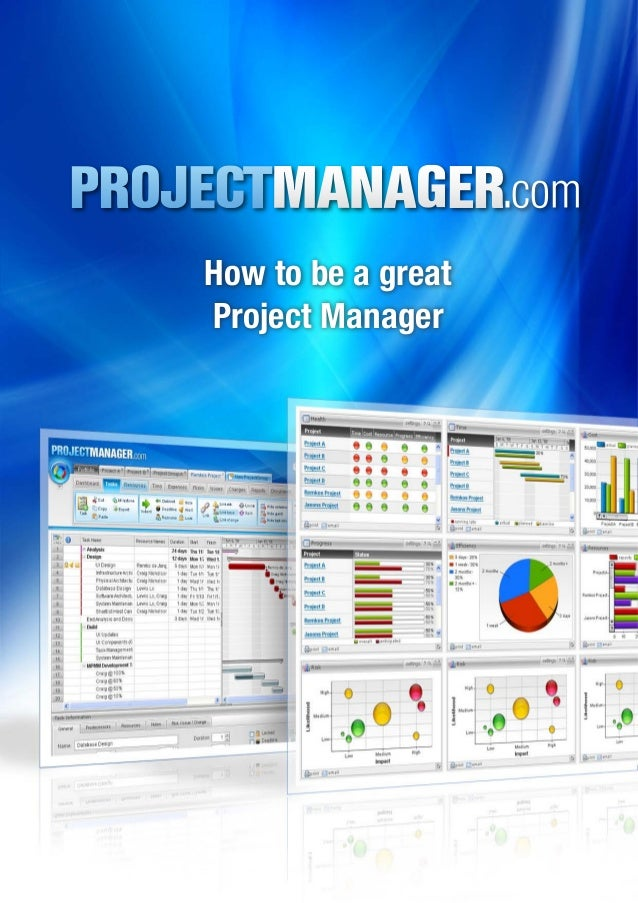 how to be a good project manager So, a good manager first and foremost should have those leadership skills to rally the troops and get the project moving forward there are good and bad managers, just like there are good and bad leaders.