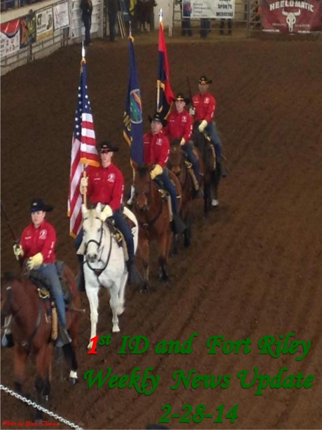 1 ID and Fort Riley Weekly News Update  2 28-14