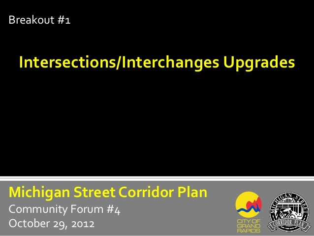 Breakout 1: Intersections & Interchanges
