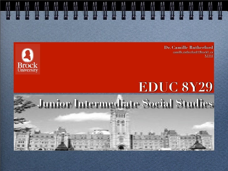 #1 Intro to JI Social Studies 2010