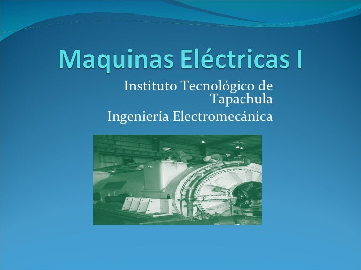 1 introduccion a las maquinas electricas