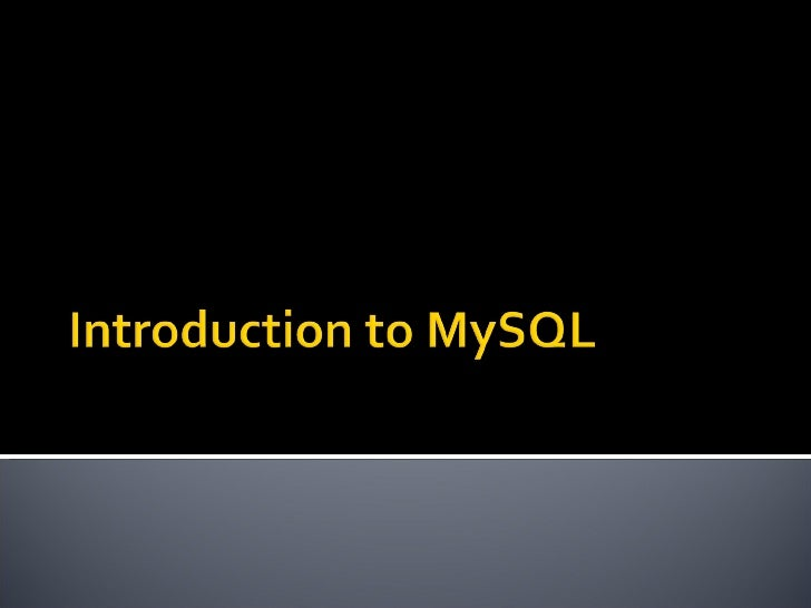    To log in to mysql monitor:     Mysql –u root   MySQL monitor   To log out, just type exit or quit