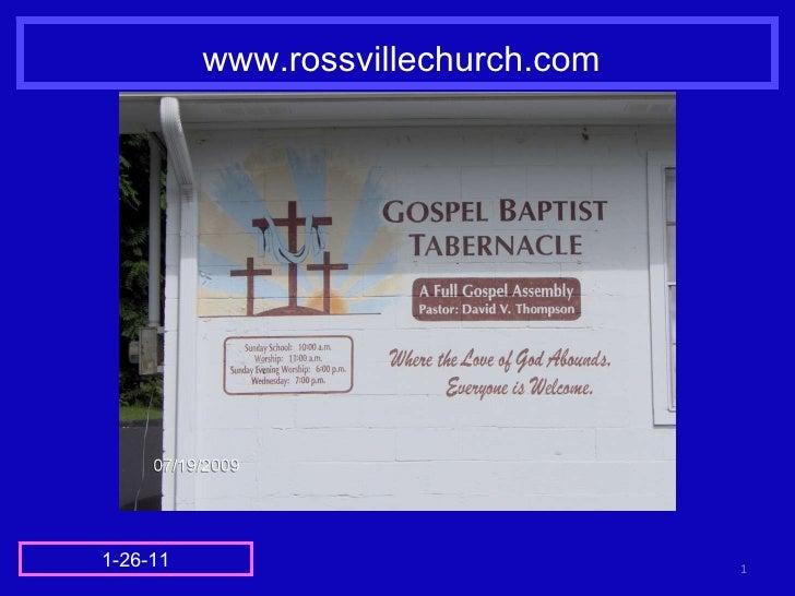 www.rossvillechurch.com 1-26-11