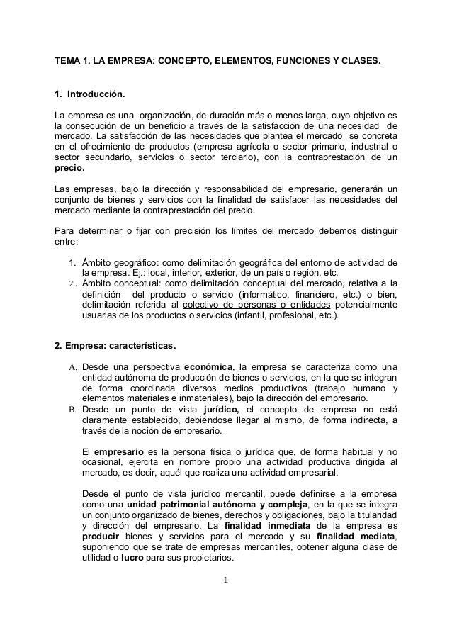1 la empresa - PRIMER TRABAJO DE EXPOSICIÓN DE 4º - 2013