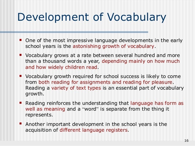 language development in early childhood From communication to conversations: expanding language development in the early childhood years.