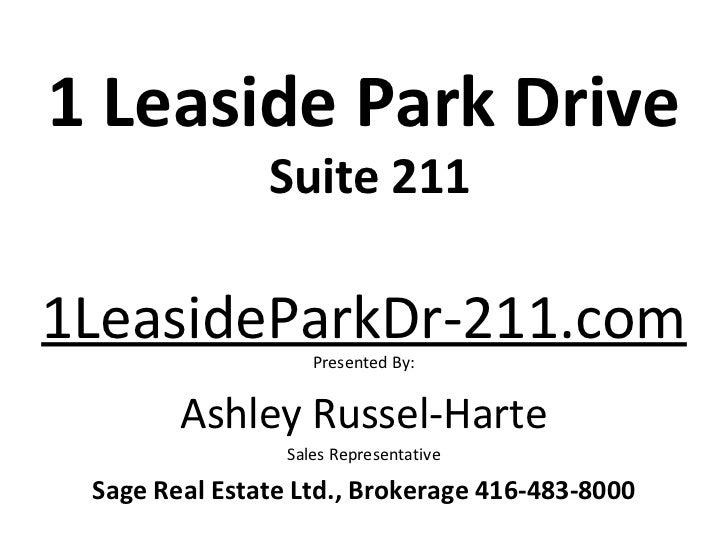 1 leaside park drive suite 211