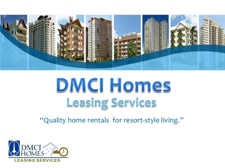 """""""Quality home rentals for resort-style living."""""""