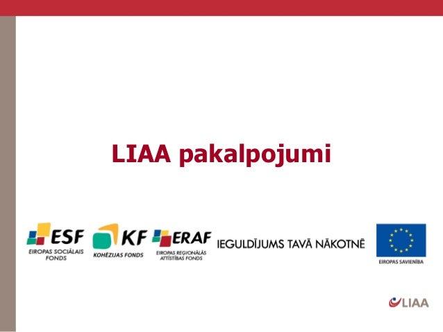 Latvijas Investīciju un attīstības aģentūras atbalsta pogrammas uzņēmējiem