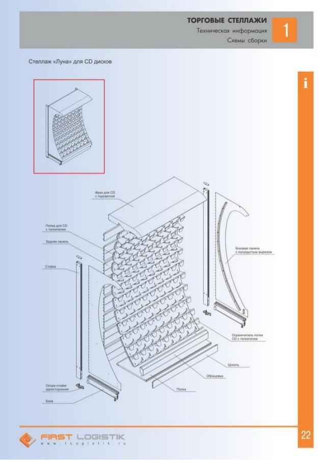 Схемы сборки Стеллаж «