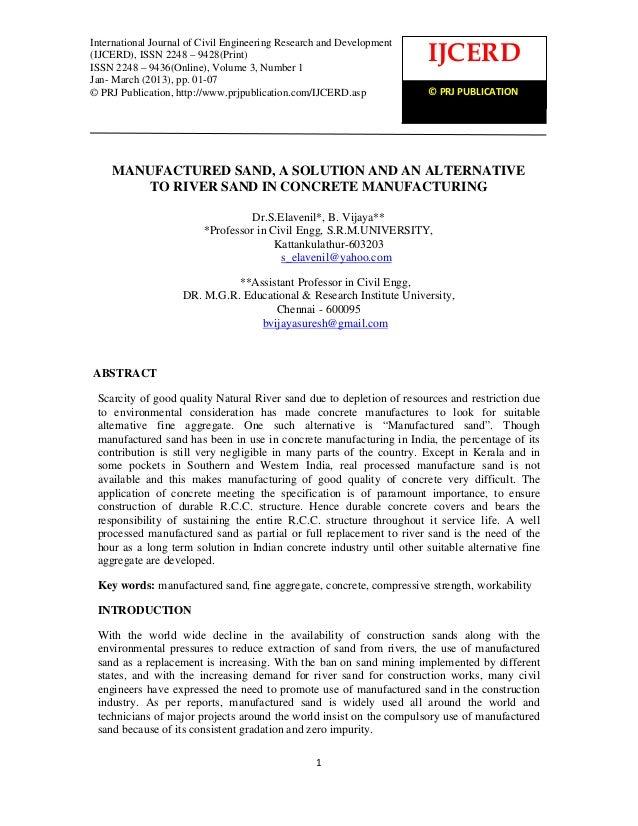 International Journal of Civil Engineering Research and Development (IJCERD), ISSN2248- 9428 (Print), ISSN- 2248-9436 (Onl...