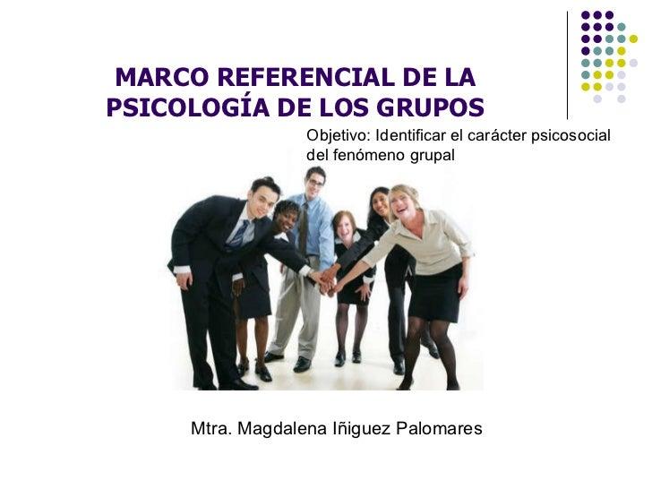 la psicologia de los grupos: