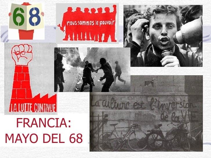 FRANCIA: MAYO DEL 68