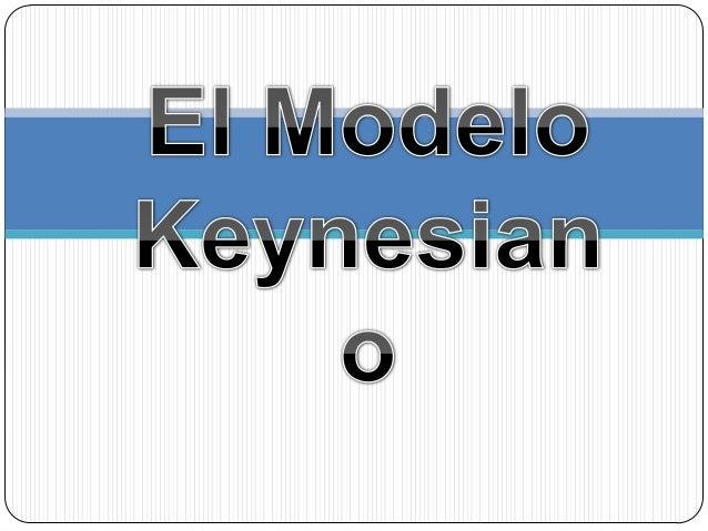 New Deal ModeloKeynesiano