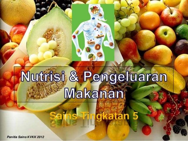 1 menilai kepentingan amalan pengambilan nutrisi dan pemakanan yang baik