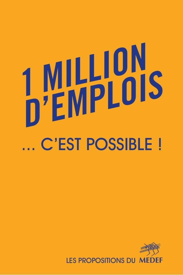 ... C'EST POSSIBLE !  LES PROPOSITIONS DU