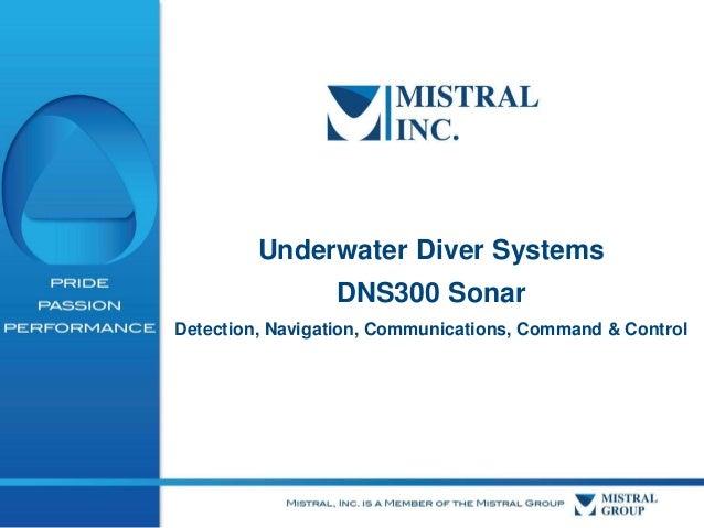 Mistral Oceana DNS300 SONAR September 2013