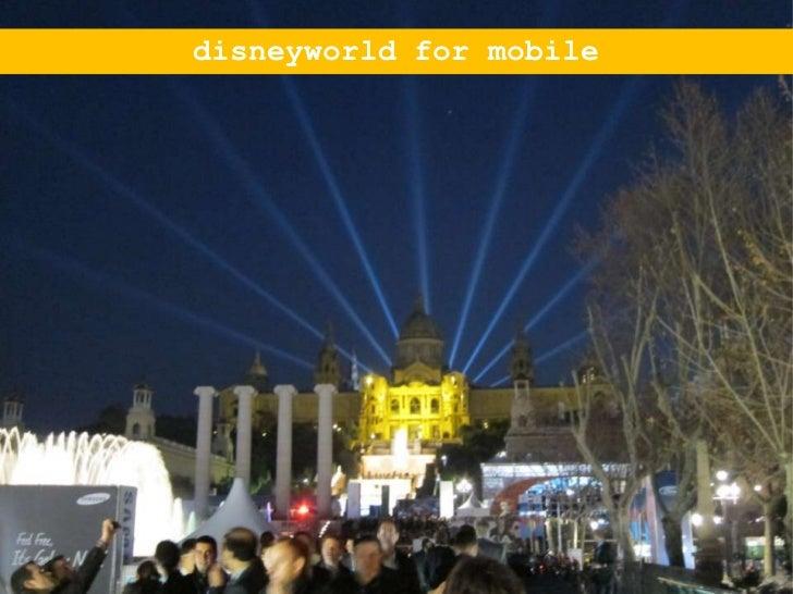 disneyworld for mobile