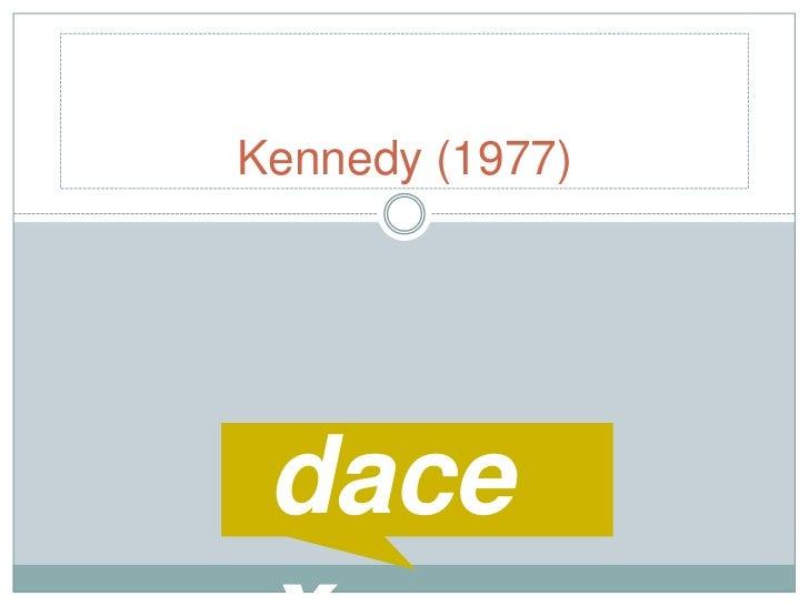 Kennedy (1977)<br />dacex<br />