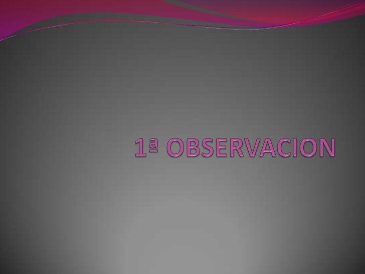 """Materia:Observación y análisis de la practica educativa                  Escuela.      Normal Prof. """"Raúl Isidro Burgos""""  ..."""