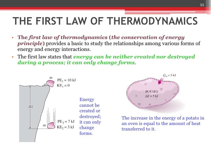 an analysis of the first law of thermodynamics An ontological and epistemological analysis of the presentation of the first law of thermodynamics in school and university textbooks joaquín castillo poblete , rocío ogaz rojas , cristian.