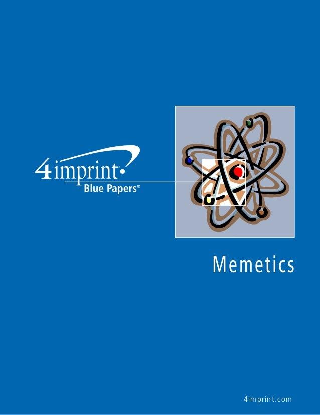 4imprint.com Memetics