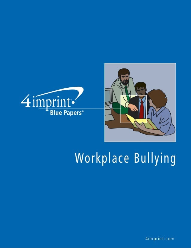essay on bullying in the workplace Mgmt321:occupational health and safetyspring session 2004report: bullying in the workplacewith a focus on military bullying and implementing a management control and.