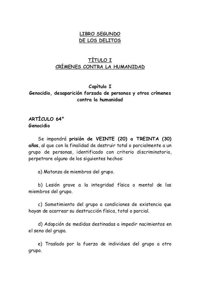 Anteproyecto codigo penal Zaffaroni